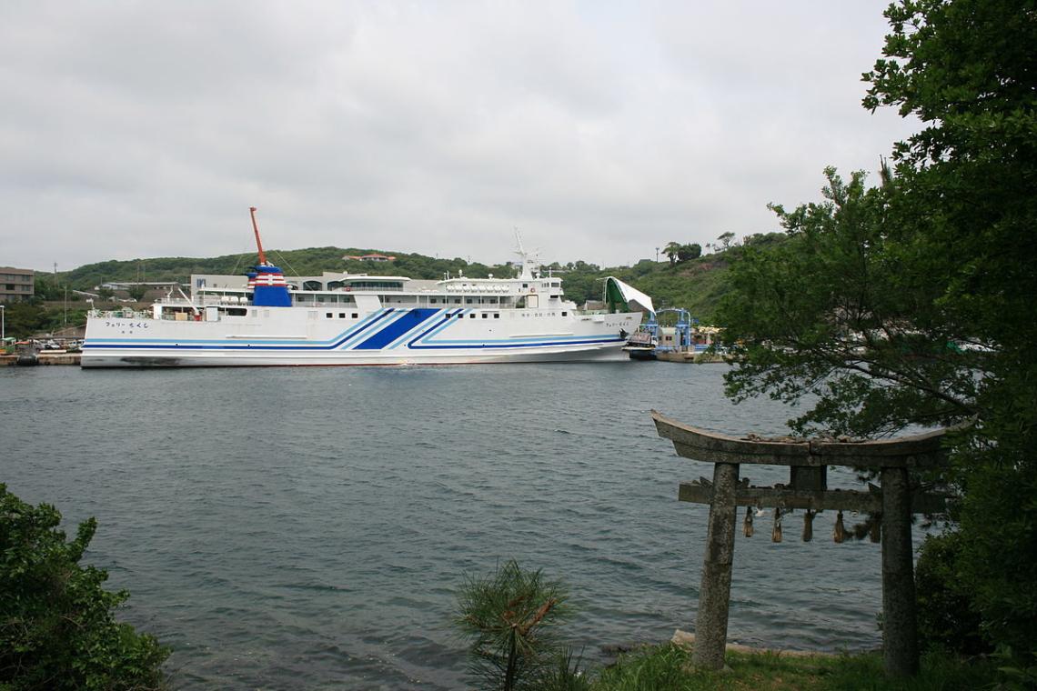 kyushu yusen ferry chikushi