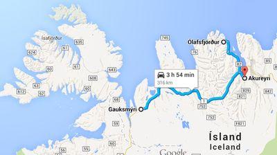 Carte 11 06 Akureyri