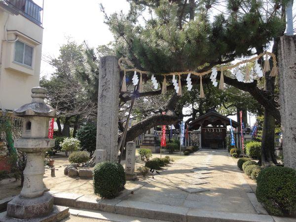 Temple dans le quartier de Shijonawate