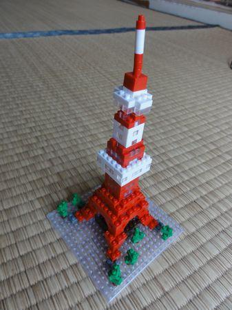 Maquette de la tour de Tokyo