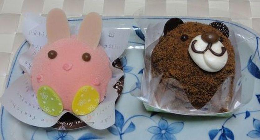 Gâteaux en forme d'animaux