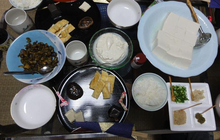 Repas de tofu