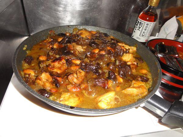 Tajine marocain préparé au Japon