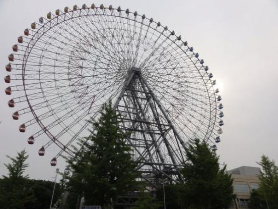 Grande roue du port d'Osaka