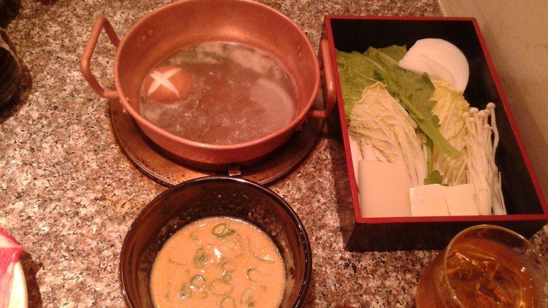 Restaurant de shabu shabu à Osaka au Japon