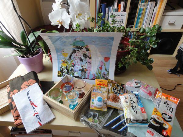 Cadeaux de nos amis japonais