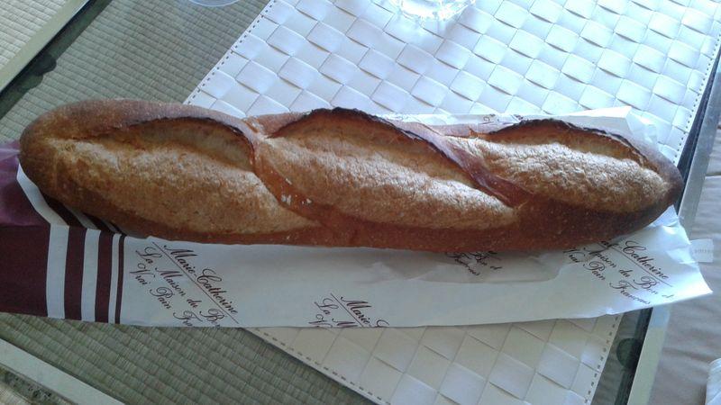 Vrai pain français au Japon