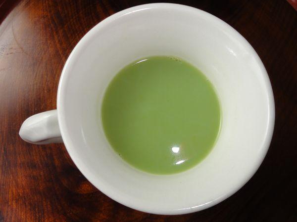 Tasse de thé macha