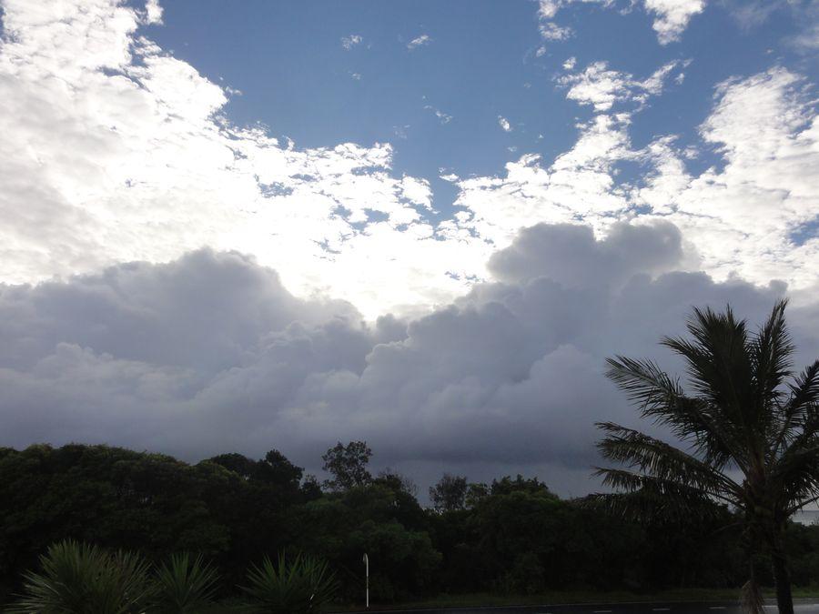 20160206 plage Ballina orage