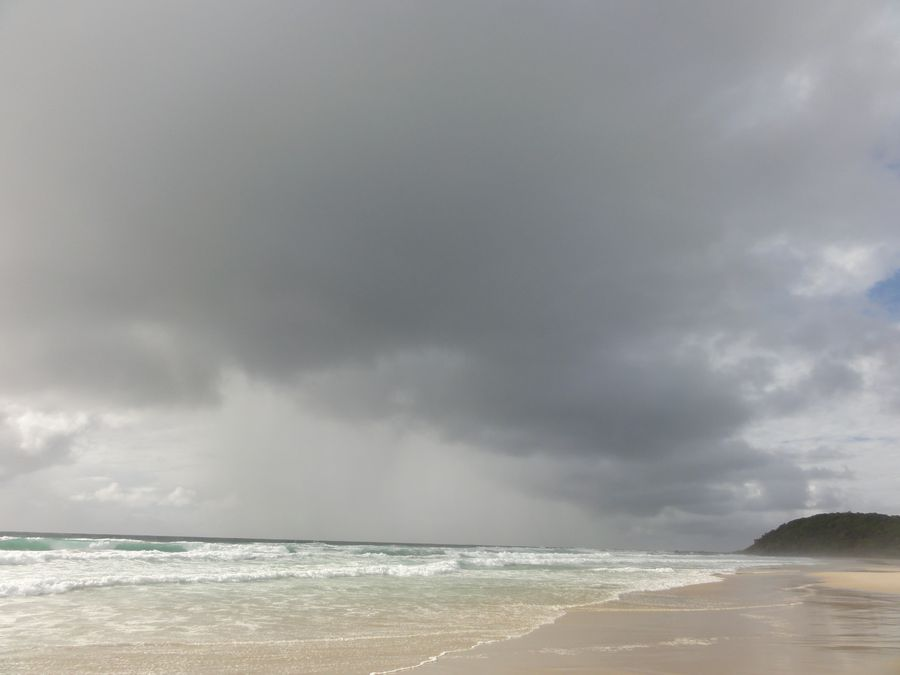 20160206 plage Ballina orage 02