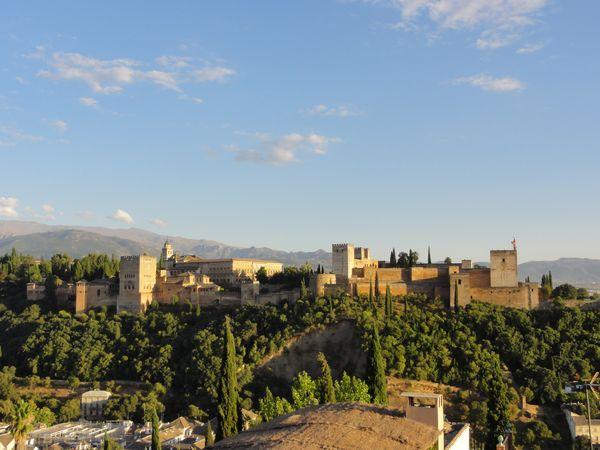 Vue d'ensemble de l'Alhambra