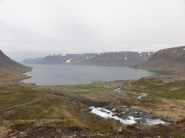 Fjord en Islande