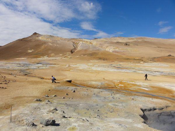 Namajfall en Islande