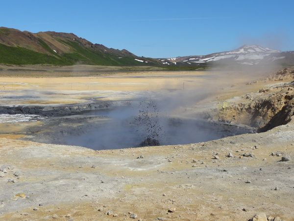 Namafjall en Islande