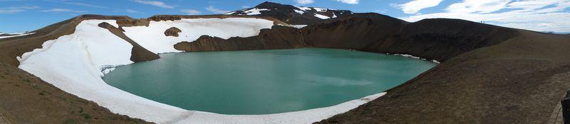 Cratère Viti en Islande