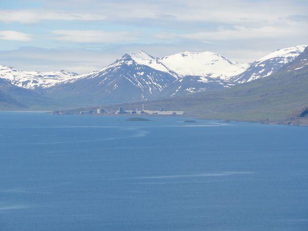 Fjords de l'Est en Islande
