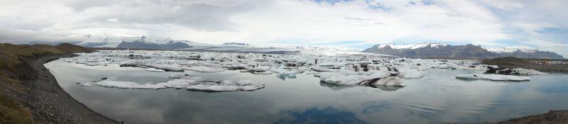 Lac glaciaire en Islande