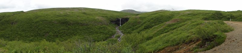 Cascade de Skaftafell