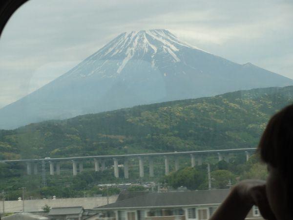 Mont Fuji vu depuis le Shinkansen Tokyo-Kyoto