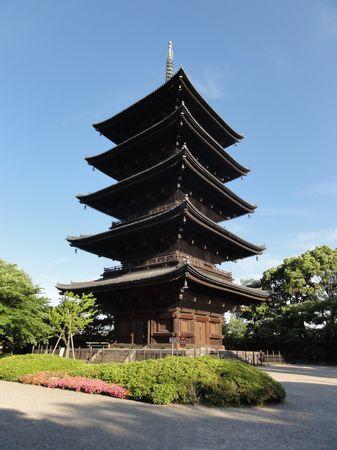 Pagode du temple Toji, Kyoto