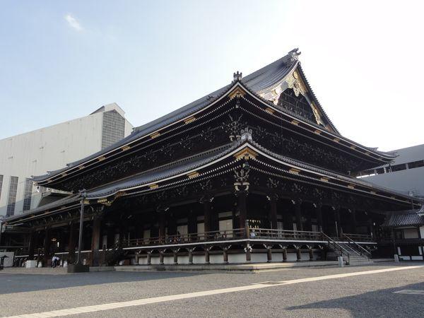 Temple Nishi-Honganji, Kyoto