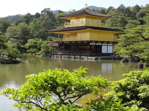 Temple du Pavillon d'or, Kinkaku-ji, Kyoto