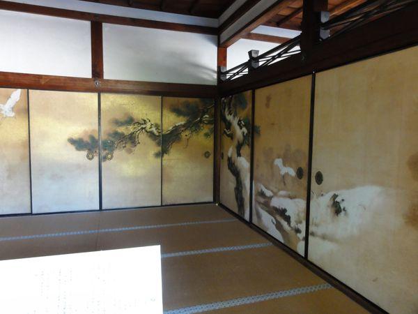 Pièce décorée d'une annexe au Kinkaku-ji, Kyoto
