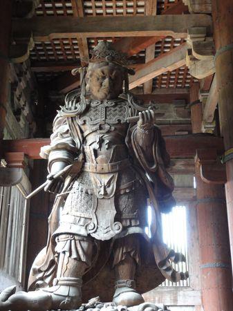 Gardien du temple de Nara