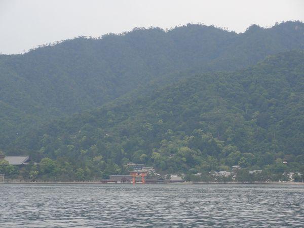 Arrivée à l'ile de Miyajima