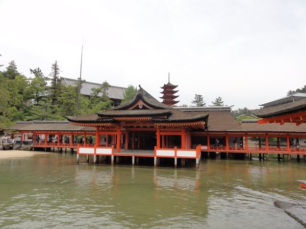 Temple principal de l'ile de Miyajima