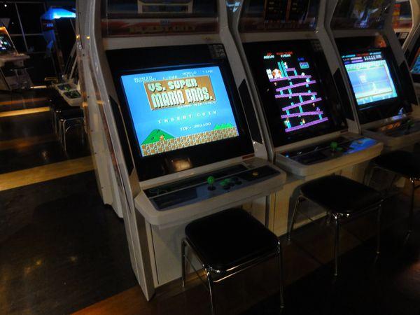 Bornes d'arcade à Akihabara, Tokyo