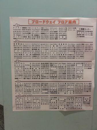Plan intégralement en japonais