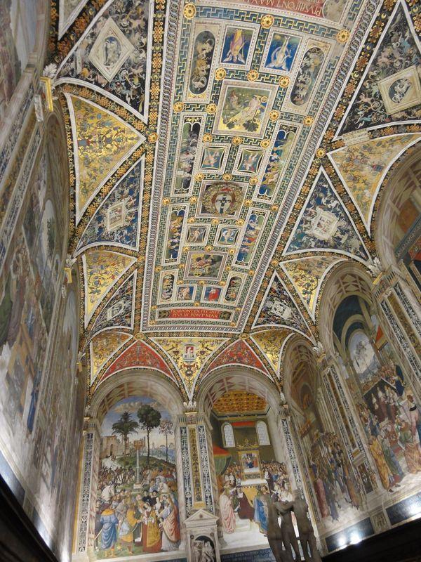 Fresques de la cathédrale de Sienne