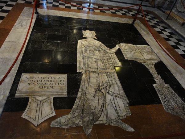 Pavement de la cathédrale de Sienne